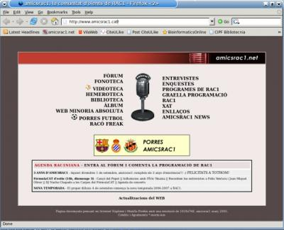 AmicsRAC1 - 3 anys de família racuniana virtual